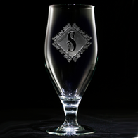 Engraved Water Goblets