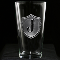 Engraved Pint Pub Glass