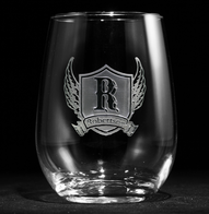 Engraved Stemless Wine Glasses for Men