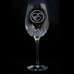Engraved Waterford Wine Glass