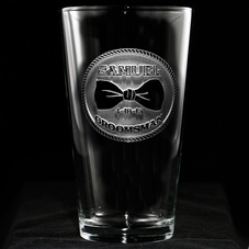 Groomsman Beer Glass