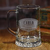 Groomsmen Best Man Gifts Engraved Beer Mug