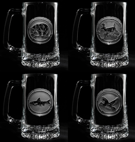 Hunter Beer Mugs