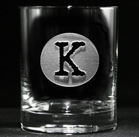 Engraved Rocks Glasses