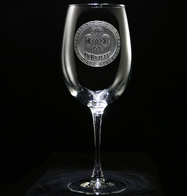 Irish Celtic Wine Glass