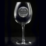 Irish Red Wine Glass