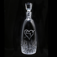 Lismore Essence Decanter, Engraved
