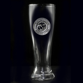 Marines Pilsner Beer Glass
