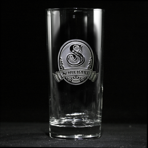 Mixed Drink Glasses, Engraved Highball