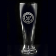 Navy Pilsner Beer Glass