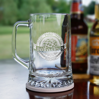 Engraved Brew Pub Beer Mug