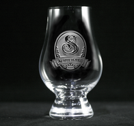 Personalized Engraved Glencairn Whisky Glass