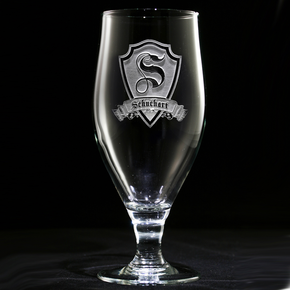 Personalized Engraved Goblet Glasses