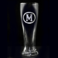 Personalized Pilsner Beer Glass