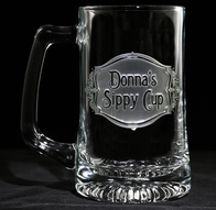 Personalized Sippy Cup Beer Mug