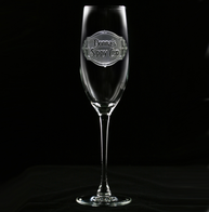 Personalized Sippy Cup Champagne Flute