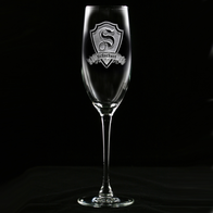 Personalized Toasting Glasses, Anniversary Champagne Flutes