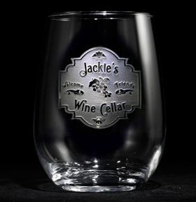 Personalized Wine Cellar Stemless Wine Glass