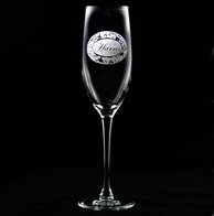 Personalized with Name Champagne Flutes Glasses
