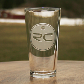Ray Cash Care Logo Pint Glass