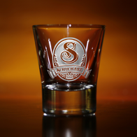 Shot Glass With Name for Whiskey Lover