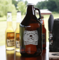 Skull and Bones Groomsman Growler