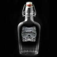 Skull and Bones Moonshine Flask