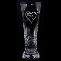 Waterford Crystal Anniversary Gift Pilsners, PAIR