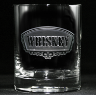 Whiskey Banner Glass