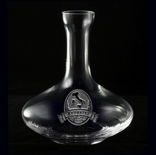 Wine Decanters, Carafe Engraved