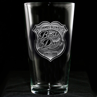 World's Best Dad Pint Pub Glass