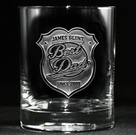 World's Best Dad Whiskey, Scotch Glass