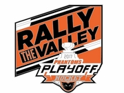 2017 Playoff Rally the Valley Pin