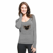 '47 Forward shift Gray ladies Top