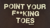 Point Your F**king Toes!!
