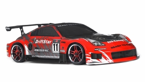 1/10 2.4Ghz Exceed RC Electric DriftStar RTR Drift Car 350 Carbon Red Version