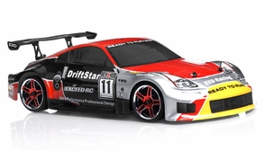 1/10 2.4Ghz Exceed RC Electric DriftStar RTR Drift Car Red Version