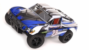 1/10 2.4Ghz Exceed RC Electric Rally Monster RTR Off Road Rally Truck Stripe Blue
