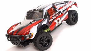 1/10 2.4Ghz Exceed RC Electric Rally Monster RTR Off Road Rally Truck Stripe Red
