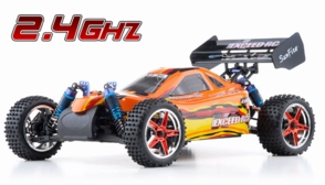 1/10 2.4Ghz Exceed RC Electric SunFire RTR Off Road Buggy Baha Red