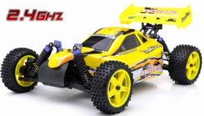 1/10 2.4Ghz Exceed RC Electric SunFire RTR Off Road Buggy (Baha Yellow)