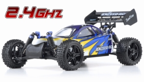 1/10 2.4Ghz Exceed RC Electric SunFire RTR Off Road Buggy Fire Blue
