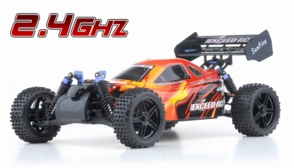 1/10 2.4Ghz Exceed RC Electric SunFire RTR Off Road Buggy Fire Red
