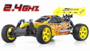 1/10 2.4Ghz Exceed RC Electric SunFire RTR Off Road Buggy Fire Yellow