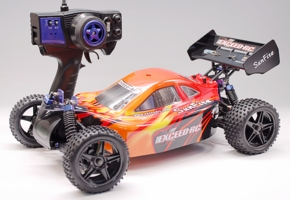 1/10 2.4Ghz Exceed RC Electric SunFire RTR Off Road Buggy Storm Red