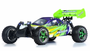 1/10 2.4Ghz Exceed RC Forza .18 Engine RTR Nitro Powered Off Road Buggy (Fire Green)