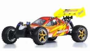 1/10 2.4Ghz Exceed RC Forza .18 Engine RTR Nitro Powered Off Road Buggy (Fire Red)