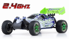 1/10 2.4Ghz Exceed RC  Forza .18 Engine RTR Nitro Powered Off Road Buggy Fire White