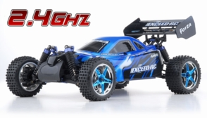1/10 2.4Ghz Exceed RC Forza .18 Engine RTR Nitro Powered Off Road Buggy Storm Blue
