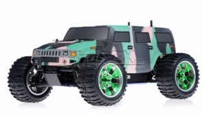 1/10 2.4Ghz Exceed RC Hammer Nitro Gas Powered RTR Off Road Monster 4WD Truck Camo Green
